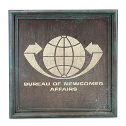 Bureau Of Newcomer Affairs Sign - ALIEN NATION: BODY AND SOUL (1995)