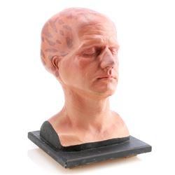 George Francisco's (Eric Pierpoint) Plaster Makeup Test Bust - ALIEN NATION (1989 - 1990)