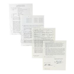 Robin Williams Signed Studio Contract For Mork & Mindy - MORK & MINDY (1978 - 1982)