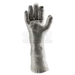 Mork's (Robin Williams) 'Instamatic' Uniform Silver Space Glove With Practical Light-Up Palm - MORK