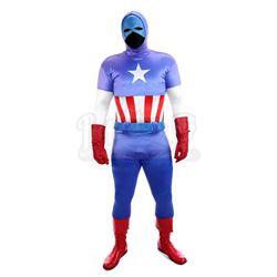Captain America's (Reb Brown) Costume - CAPTAIN AMERICA (1979)