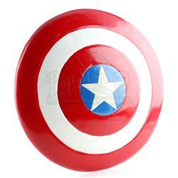 Captain America's (Matt Salinger) Metal Circular Shield Prototype - CAPTAIN AMERICA (1990)