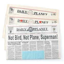 Three Daily Planet Newspapers - LOIS & CLARK: THE NEW ADVENTURES OF SUPERMAN (1993 - 1997)