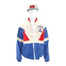 Super Dave Osborne's (Bob Einstein) 'Captain Super' Windbreaker and 'Sd' Cap - SUPER DAVE (1987 - 19