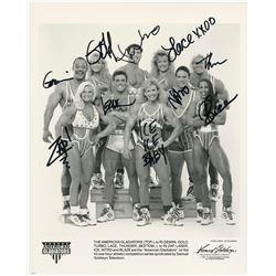 Autographed Cast Photo - AMERICAN GLADIATORS (1989 - 1997)