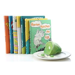 Plate Of Green Eggs and Ham and Oversized Prop Seuss Books - IN SEARCH OF DR. SEUSS (1994)