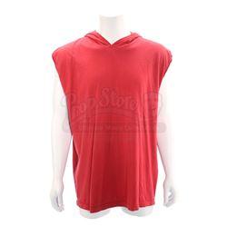 Jason Lee Scott's (Austin St. John) Red Power Ranger Sleeveless Hoodie - MIGHTY MORPHIN POWER RANGER
