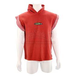 Jason Lee Scott's (Austin St. John) Red Power Ranger Sleeveless Sweater - MIGHTY MORPHIN POWER RANGE