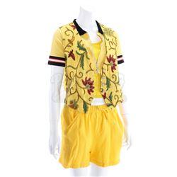 Trini Kwan's (Thuy Trang) Yellow Power Ranger Costume - MIGHTY MORPHIN POWER RANGERS (1993 - 1996)