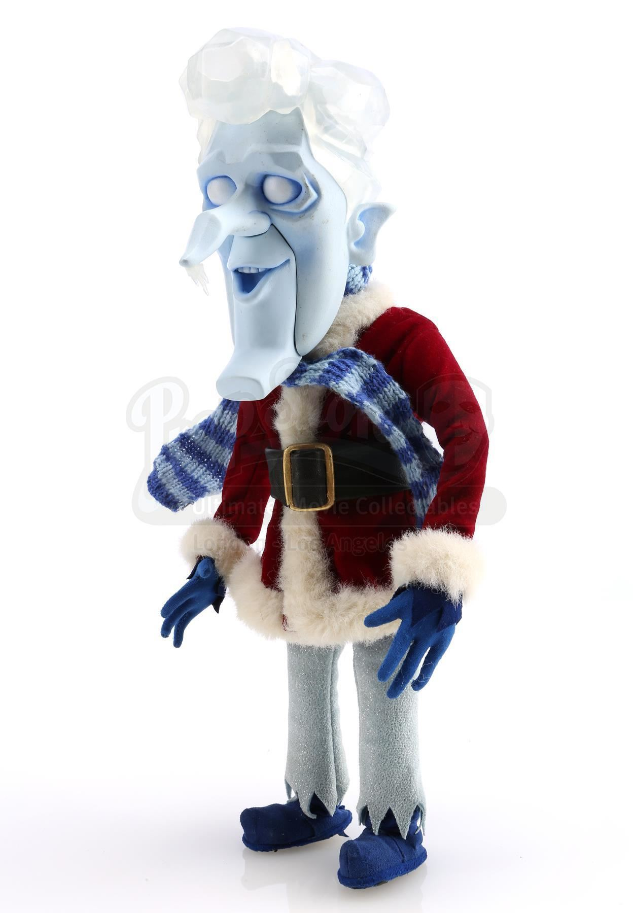 A Miser Brothers Christmas.Snow Miser S Stop Motion Puppet With Lip Kit Of Mouths A Miser Brothers Christmas 2008