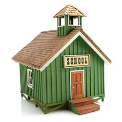 Valley Of The Jolly Green Giants Schoolhouse Miniature - GREEN GIANT COMMERCIALS (1960s - 1970s)