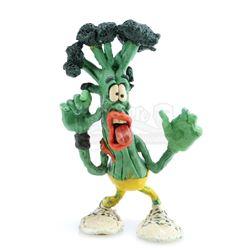 Lick Broccoli's Claymation Puppet - MEET THE RAISINS! (1988)