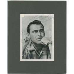 Rod Serling Autographed Photograph - THE TWILIGHT ZONE (1959 - 1964)