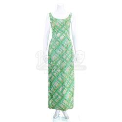 Jeannie's (Barbara Eden) Green Evening Gown - I DREAM OF JEANNIE (1965 - 1970)