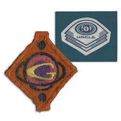 U.N.C.L.E Crew Uniform Patch and Spindrift Insignia Patch - THE MAN FROM U.N.C.L.E (1964 - 1968) OUR