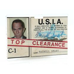 Maxwell Smart's (Don Adams) United States Intelligence Agency ID Badge - GET SMART, AGAIN! (1989)