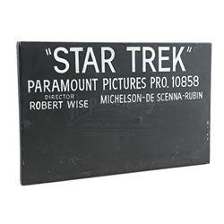 """""""Star Trek"""" Production Slate - STAR TREK: THE MOTION PICTURE (1979)"""