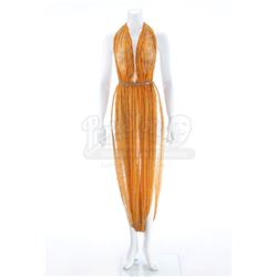 Elaan's (France Nuyen) Orange Halter-Neck Dress - STAR TREK: THE ORIGINAL SERIES (1966 -1969) - ELAA