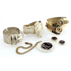 William Ware Theiss' Workroom Cuff Bracelets, Necklace and Earrings - STAR TREK: THE ORIGINAL SERIES