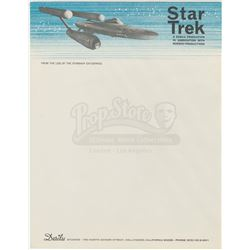 'Star Trek' Letterhead and Collateral - STAR TREK: THE ORIGINAL SERIES (1966 - 1969) / STAR TREK: TH