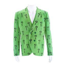 "Riddler's (Frank Gorshin) ""?"" Green Suit Jacket and Vest - BATMAN (1966 - 1968) - SMACK IN THE MIDDL"