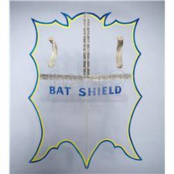 Batman (Adam West) and Robin's (Burt Ward) Hero Bat Shield - BATMAN (1966 - 1968) / SEASONS 1 & 2