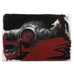 Isaac Mendez's (Santiago Cabrera) Precognitive Artwork On Canvas - HEROES (2006 - 2010)