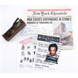 Future Gabriel Gray's (Zachary Quinto) Props and Peter Petrelli's (Milo Ventimiglia) Newspaper - HER