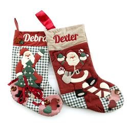 Dexter Morgan's (Michael C. Hall) and Debra Morgan's (Jennifer Carpenter) Christmas Stockings - DEXT