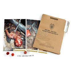 Doomsday Killer's Case File, Blood Samples and Crime Scene Photos - DEXTER (2006 - 2013)
