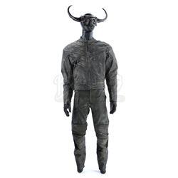 Serial Killer Ray Speltzer's (Matt Gerald) Minotaur Mask Costume - DEXTER (2006 - 2013)