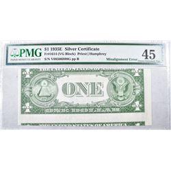 1935E $1 SILVER CERTIFICATE FR#1614