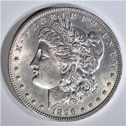 1896-O MORGAN DOLLAR  CH BU