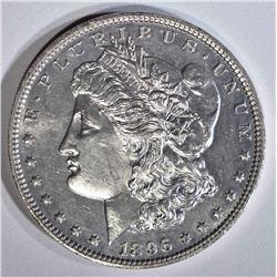 1896 MORGAN DOLLAR  GEM BU PL OBV