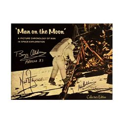 Apollo XI Crew Signed Man on the Moon Booklet