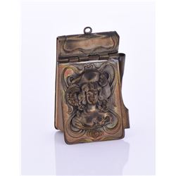 Antique Art Nouveau Miniature Notebook