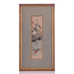 Antique Original Japanese Watercolor