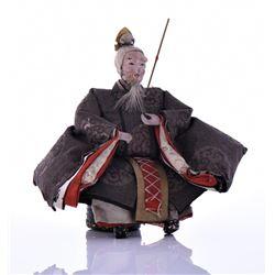 Antique Japanese Ceramic Doll
