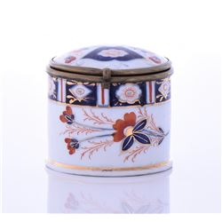 Antique 19th Century Small Porcelain Lid