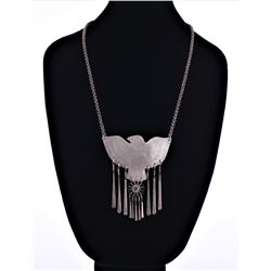 Native American Sterling Silver Necklace