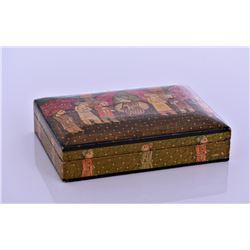 Vintage Kashmir Lacquer Box