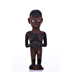 Papua New Guinea Tribal Wood Idol Doll