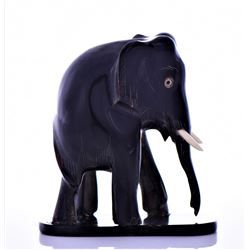 Elephant Carved From Horn