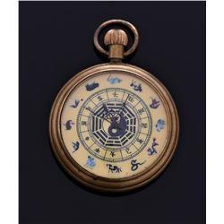 Vintage Pocket Watch, Working, Chinese