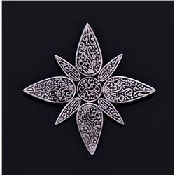 John Hardy Designer Star Clip Pin