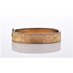 Vintage Yellow Gold Tone Plated Bracelet