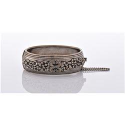 Vintage Silver Tone Plated Bracelet