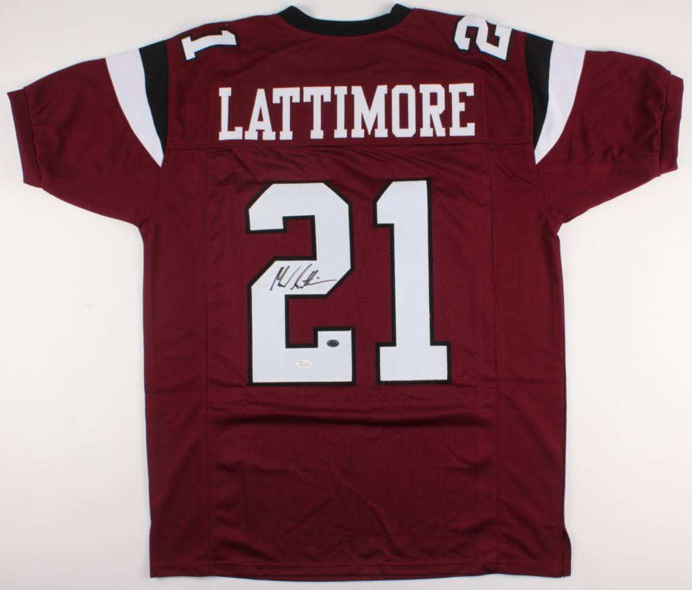 check out 57afd e3c82 Marcus Lattimore Signed South Carolina Gamecocks Jersey ...
