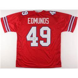 sports shoes 6411a 71544 Tremaine Edmunds Signed Bills Jersey (JSA COA)