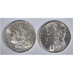 1899-O & 1904-O CH BU MORGAN DOLLARS